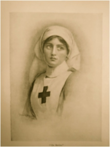 'On Service' from a painting by Harold Copping, 1918
