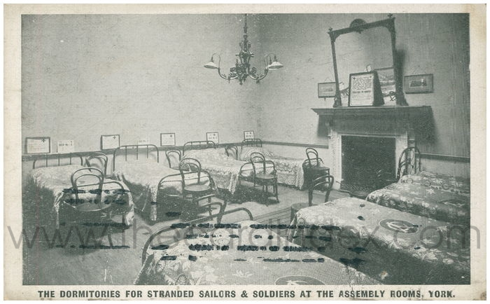 Stranded Soldiers and Sailors Club, Assembly Rooms 1918