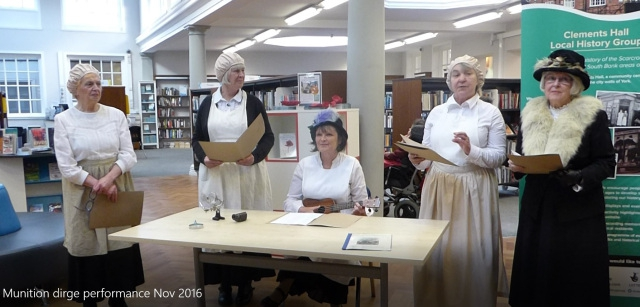 History Group members (from left to right): Beryl Long, Anne Bush, Carol Warren, Anne Houson, Elizabeth Melrose