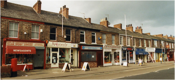 Bishopthorpe Road with Post Office 1998