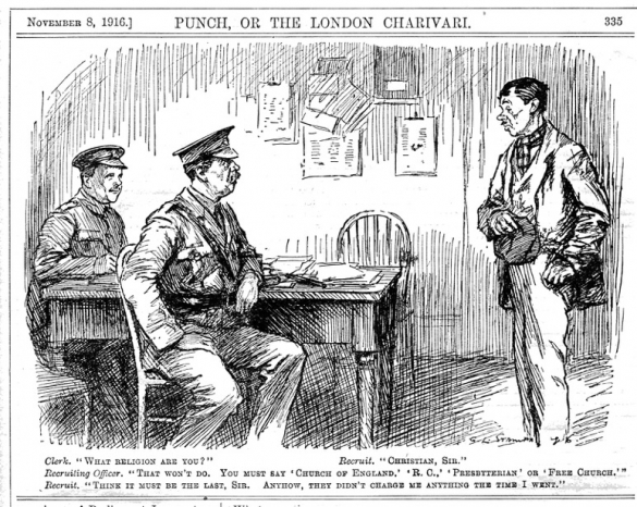 Punch cartoon 1916