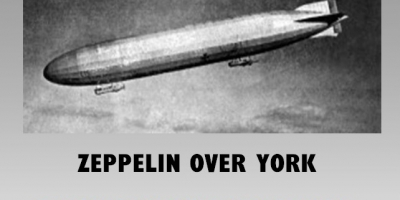 Zeppelin over York event poster