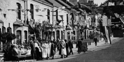 Millfield Road peace celebrations 1919
