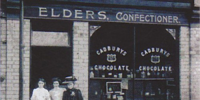 Elder's shop in Scarcroft road (now Melton's Restaurant)