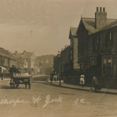 Bishopthorpe Road near corner of Vine St