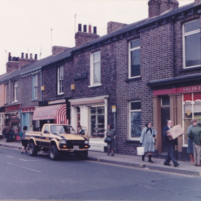 Bishopthorpe Road, corner of Ebor St 1984