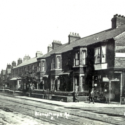 Bishopthorpe Road at Butcher Terrace corner