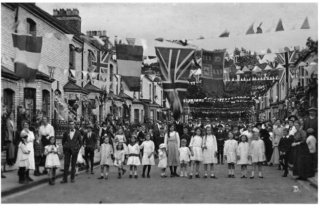 Thorpe Street  Party WW1 No 2